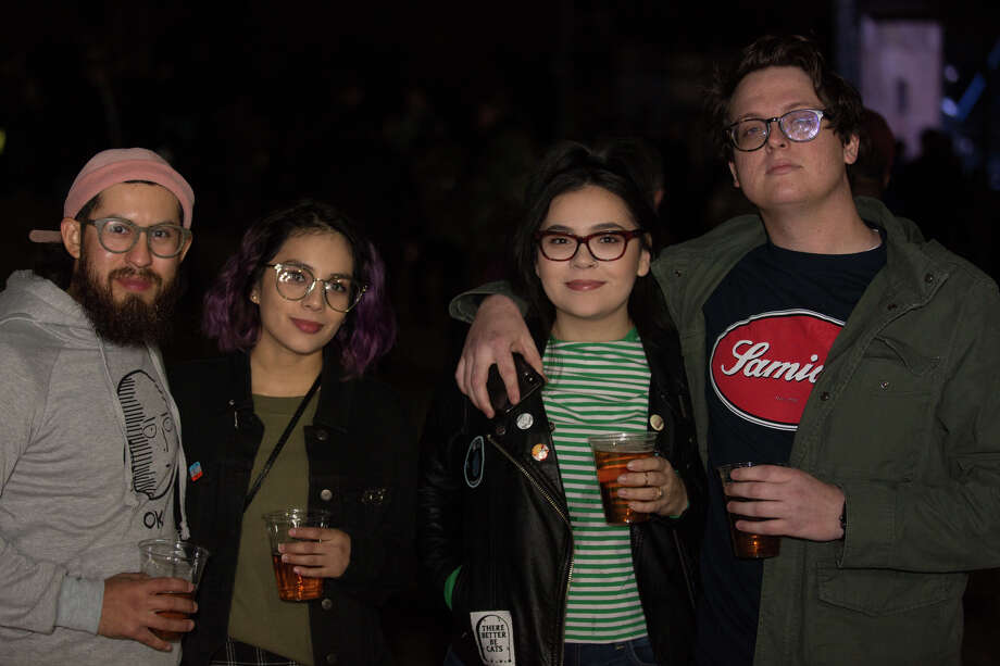 San Antonio rocked out to the Smashing Pumpkins on Tuesday December 4, 2018 at the Sunken Gardens Ampitheatre. Photo: B. Kay Richter