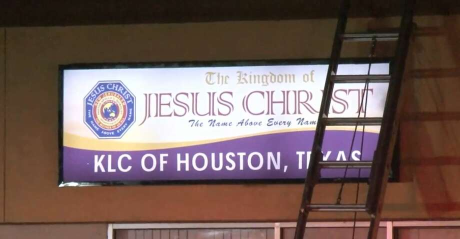 A church caught fire on South Kirkwood and Beechnut on Wednesday, Dec. 5, 2018. Photo: Metro Video