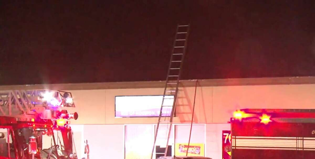 A church caught fire on South Kirkwood and Beechnut on Wednesday, Dec. 5, 2018.
