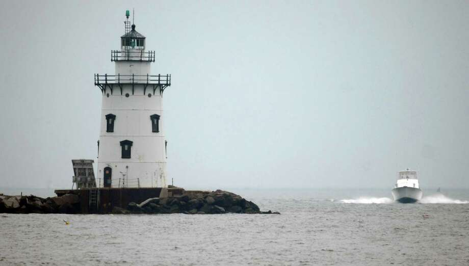 The breakwater lighthouse near Fenwick in Old Saybrook Photo: File Photo