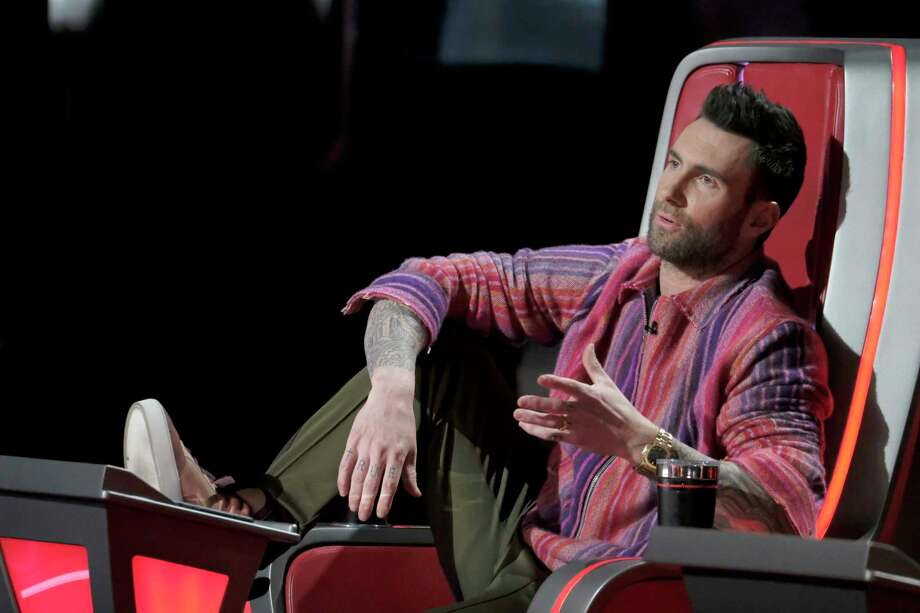 "Adam Levine tries to explain himself on the Top 10 results episode of ""The Voice"" Season 15.  Click ahead to see what's airing on TV right now. Photo: Trae Patton, NBC / 2018 NBCUniversal Media, LLC."