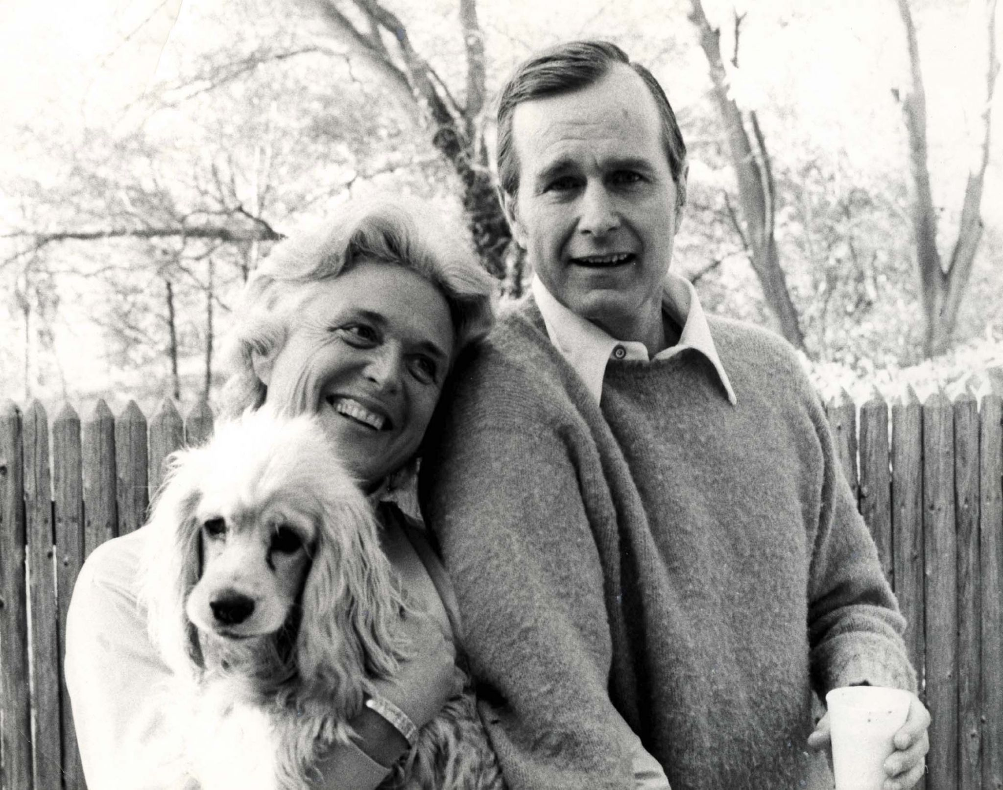 Look back at dog-lover George H W  Bush's pets, from Millie