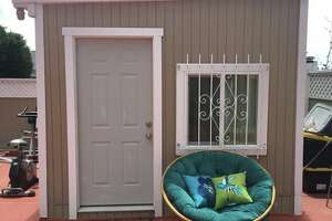 """A very small """"studio apartment"""" off Sloat Boulevard in San Francisco was recently offered for rent on Facebook and Craigslist."""