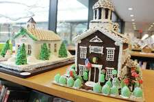 """The Old Town Hall is just one of the more than 30 submissions for the ?""""How Sweet It Is In Wilton?"""" Gingerbread Contest going on now at Wilton Library. The community is invited to pick its favorite, along with three judges who will be choosing winners in three categories out of two groups, for a total of seven entries winning Wilton Chamber of Commerce gift certificates. Voting takes place through Dec. 18 with winners announced Dec. 19 at 4 p.m."""