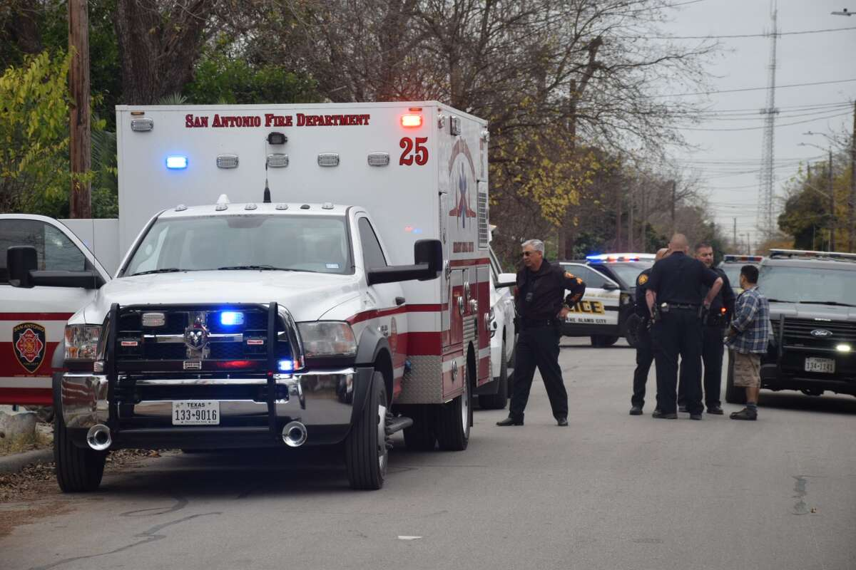 San Antonio police were called to the intersection of Huron and Vermont streets to respond to a shooting on Dec. 5, 2018.