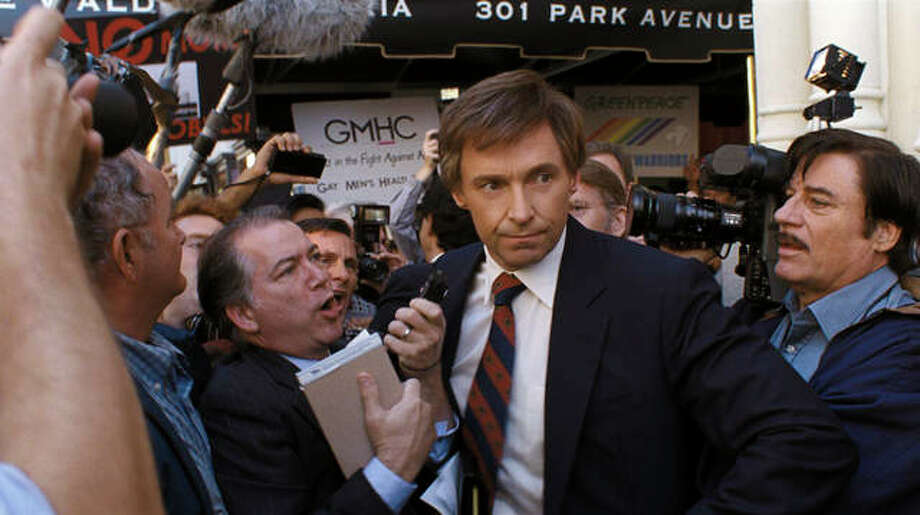"This image released by Sony Pictures shows Hugh Jackman in a scene from ""The Front Runner."" Photo: Sony Pictures Via AP"