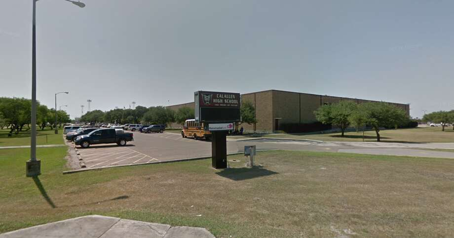PHOTOS: Texas school regions and percent of students disciplinedCalallen ISD officials have declined to say whether six high school cheerleaders will face punishment for a sexually explicit and racially charged video filmed on a bus about two weeks ago.>>> See how often students are disciplined in Texas school regions  Photo: Google Maps