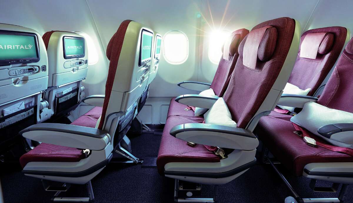 Air Italy economy class on its Airbus A330