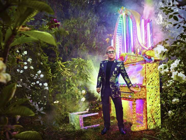 Elton John. Photo by David LaChapelle.