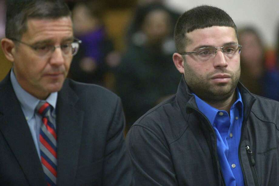 Antonio Lio, 30, was granted accelerated rehabilitation for the killing of two young black bears in September 2017. He now faces misdemeanor marijuana charges. Photo: Erik Trautmann / Hearst Connecticut Media / Norwalk Hour