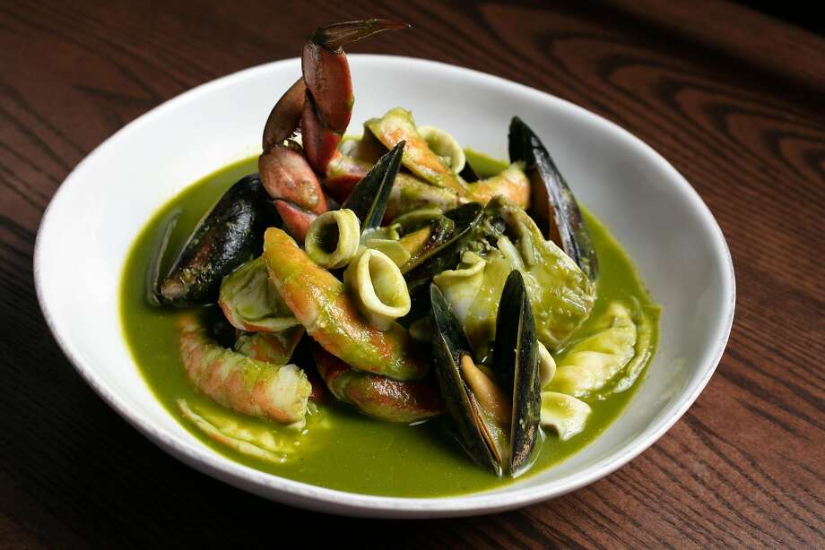 Cioppino Verde ($37) Photo: Molly DeCoudreaux