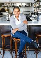 Simone Mims, bar manager at Nico, is one of six Bar Stars featured at Pearl 6101 restaurant Monday, Dec. 3, 2018 in San Francisco, Calif.    (Photo copyright Nader Khouri 2018)