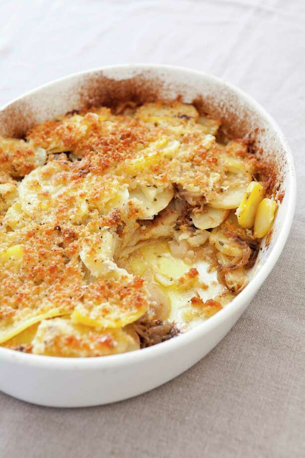 Yukon Gold potatoes shine in this gratin. (Joe KellerAmerica's Test Kitchen via AP) Photo: Joe Keller / © 2017 America's Test Kitchen, LLC. All Rights Reserved.
