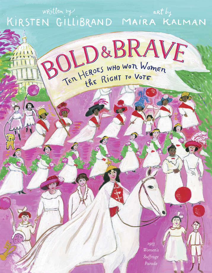 U.S. Senator Kirsten Gillibrand's new book is Bold & Brave, a picture book for ages 6-9 about heroes of the suffragist movement.