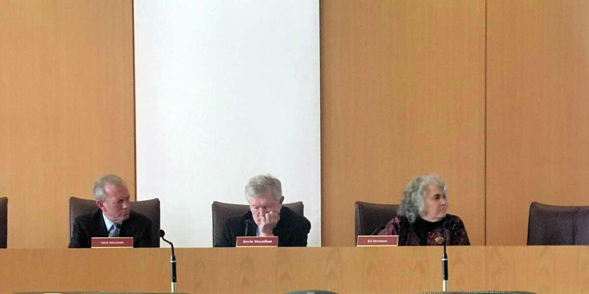 Board of Selectmen. Taken Nov. 4.