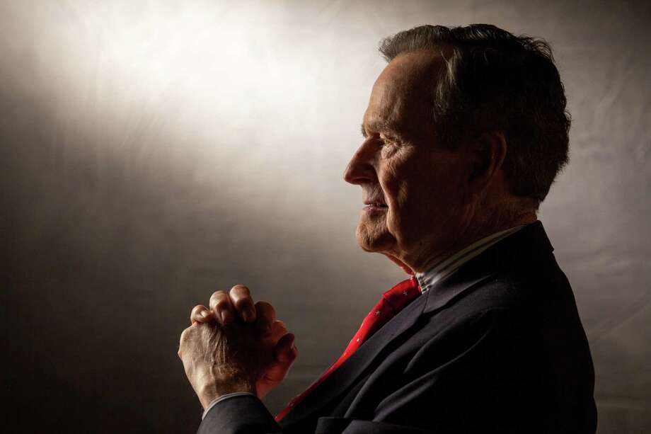 With former President George H.W. Bush, there was something more at work than a moral code. It is difficult to lose a man who triumphed over ego, over impulse, over hatred. Photo: Getty Images File Photo / 2015 David Hume Kennerly