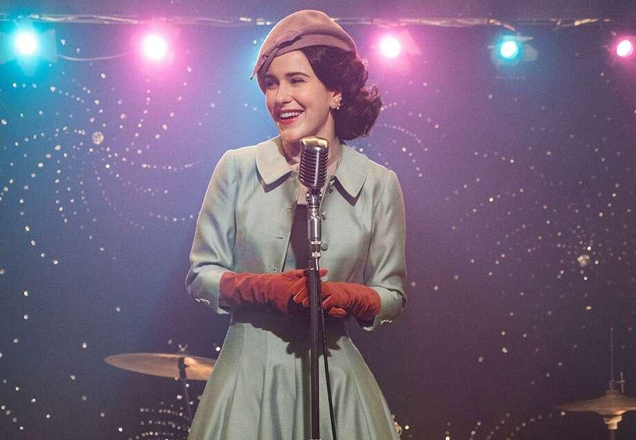 "Rachel Brosnahan in ""The Marvelous Mrs. Maisel."" Photo: Amazon Studios, HO / TNS / Newsday"