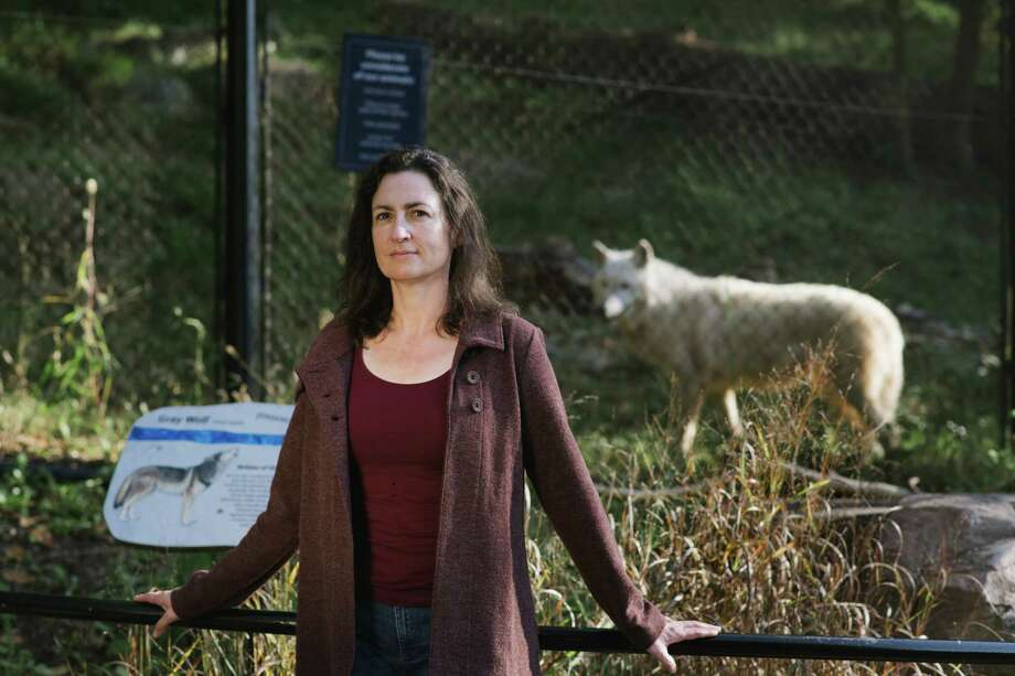 Francine Madden, pictured at the National Zoo in October, is a wildlife mediator based in Washington, D.C. Photo: Photo For The Washington Post By Kate Warren / For The Washington Post