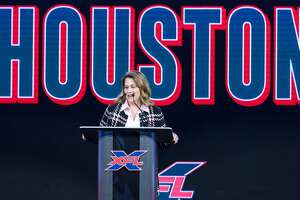 Janis Burke, CEO of Harris County Sports Authority, is excited for Houston to host an XFL team.
