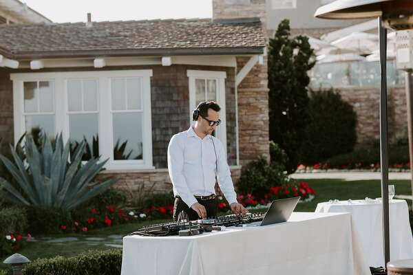 DJ John Kades Who Spun For The Evening At 40th Birthday Celebration Of Christina Trujillo Ayoub