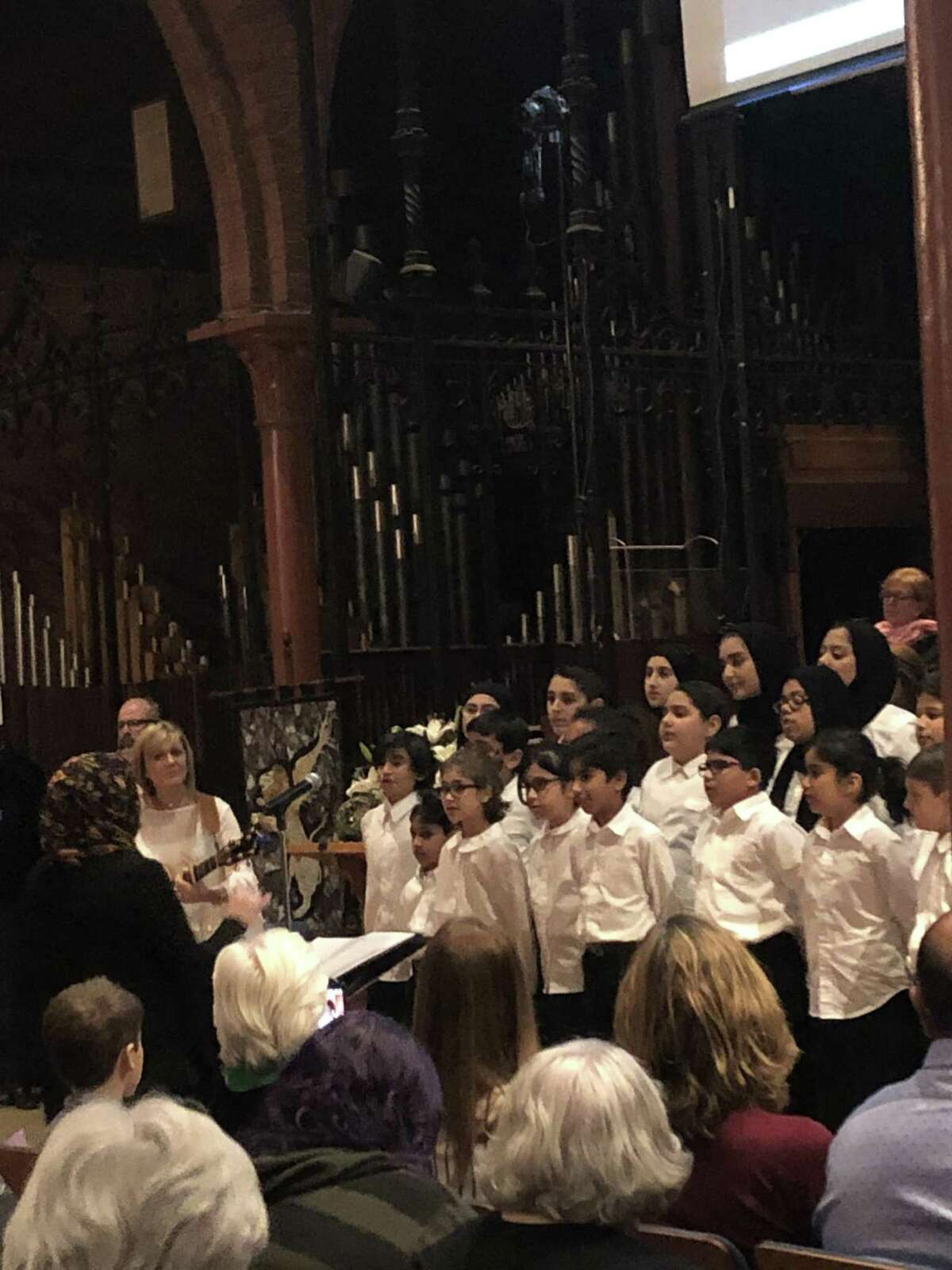 ADAMS Best Choir, a D.C.-area youth choir, performs