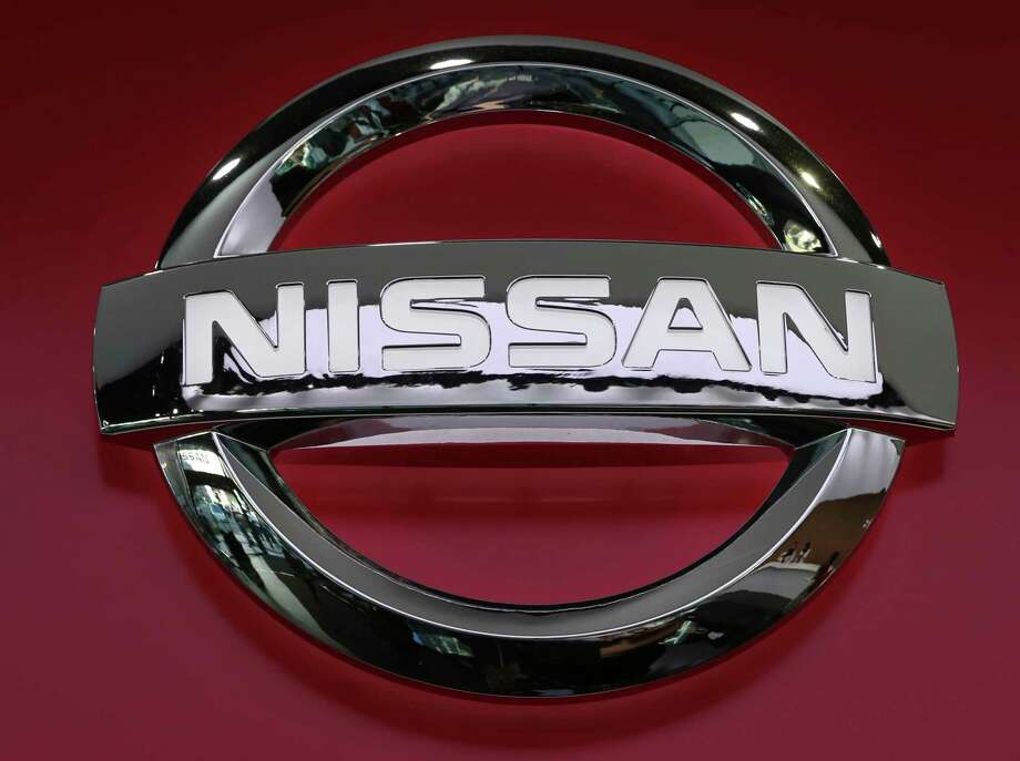 FILE- This Nov. 15, 2018, file photo shows Nissan logo at the automaker's showroom in Tokyo. U.S. safety regulators are investigating complaints that a suspension part on Nissan Altimas can come loose from the frame due to corrosion. The probe by the National Highway Traffic Safety Administration covers about 374,000 cars from 2013.  (AP Photo/Koji Sasahara, File) Photo: Koji Sasahara / Copyright 2018 The Associated Press. All rights reserved.