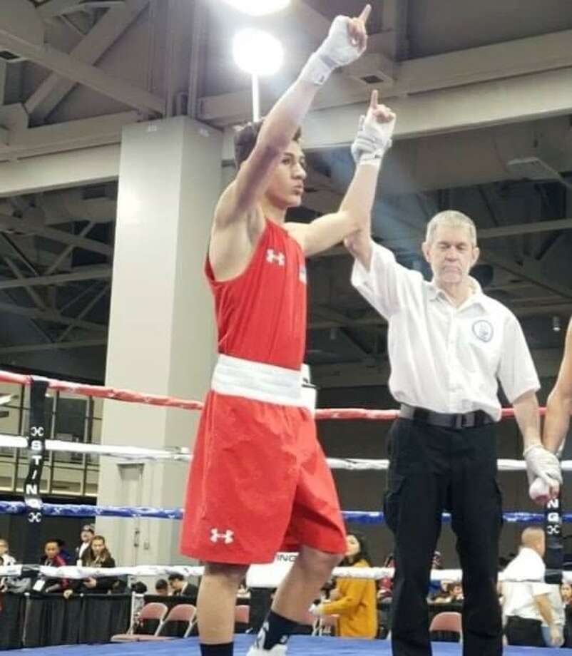 Emilio Garcia won by split decision Wednesday advancing to the quarterfinals of the  2018 Elite & Youth National Championships & Junior Prep Open in Salt Lake City, Utah. Photo: Courtesy Photo