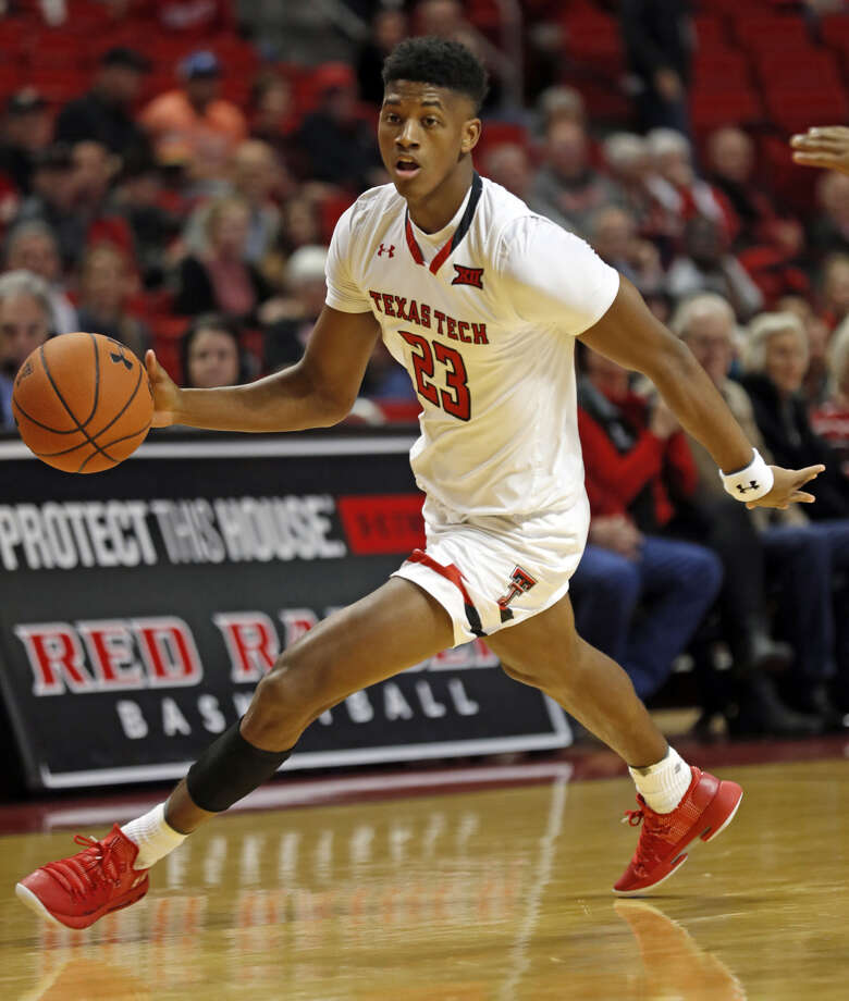 FLOOR GENERAL Texas Tech sophomore guard Jarrett Culver brings the ball down the court during the regular season home game against Arkansas-Pine Bluff on Wednesday night at the United Supermarkets Arena in Lubbock. Photo: Brad Tollefson/Lubbock Avalanche-Journal