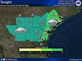 Forecast calls for severe weather in South Texas on Friday