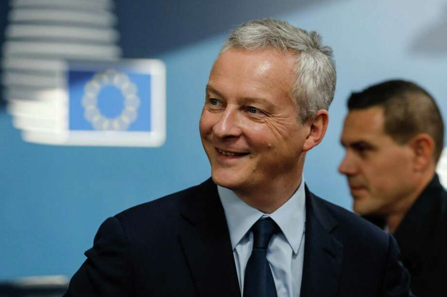 Bruno Le Maire arrives for a meeting in Belgium in November, 2018. Photo: Bloomberg Photo By Dario Pignatelli / Bloomberg