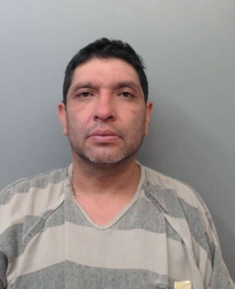 Juan Antonio Avalos, 44, was charged with injury to an elderly person and interference with an emergency call. Photo: Webb County Sheriff's Office