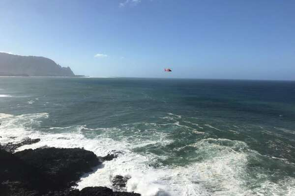 Rescuers search for California woman swept out to sea at