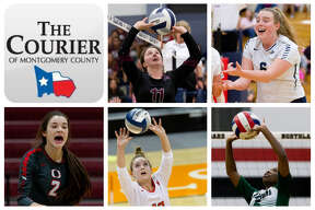 Faith Lynch (Magnolia), Annie Cooke (College Park), Kenzie Arent (Oak Ridge), Clara Brower (The Woodlands) and Destiny Brass (TWCA) are The Courier's nominees for Setter of the Year.