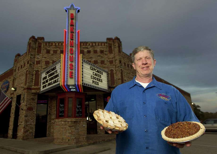 Montgomery Bakehouse owner Tim Schenk, poses for a portrait, Wednesday, Dec. 5, 2018, in Conroe. The business will bake 5,000 pecan and apple pies for the Thanksgiving season. Photo: Jason Fochtman, Houston Chronicle / Staff Photographer / © 2018 Houston Chronicle