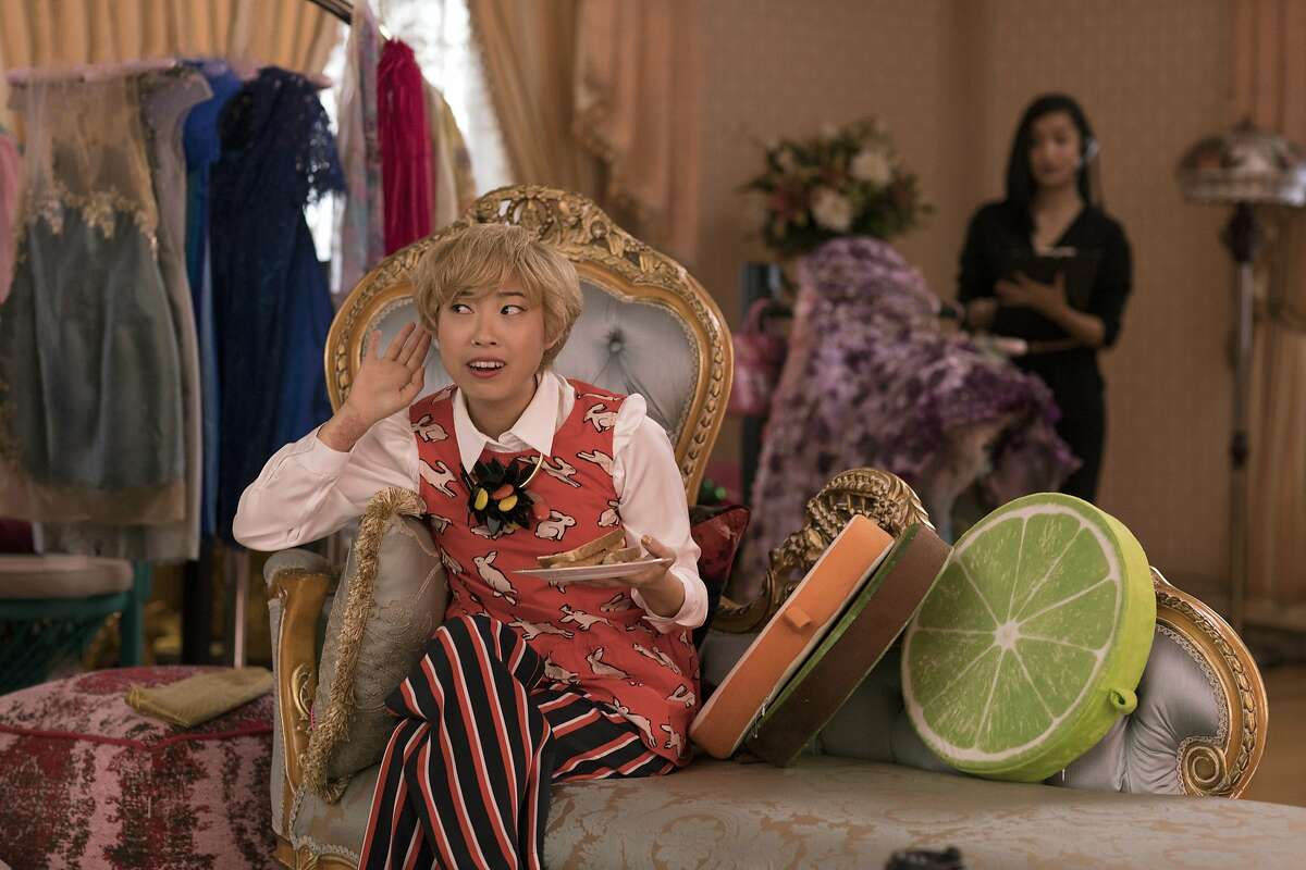 This image released by Warner Bros. Entertainment shows Awkwafina in a scene from the film