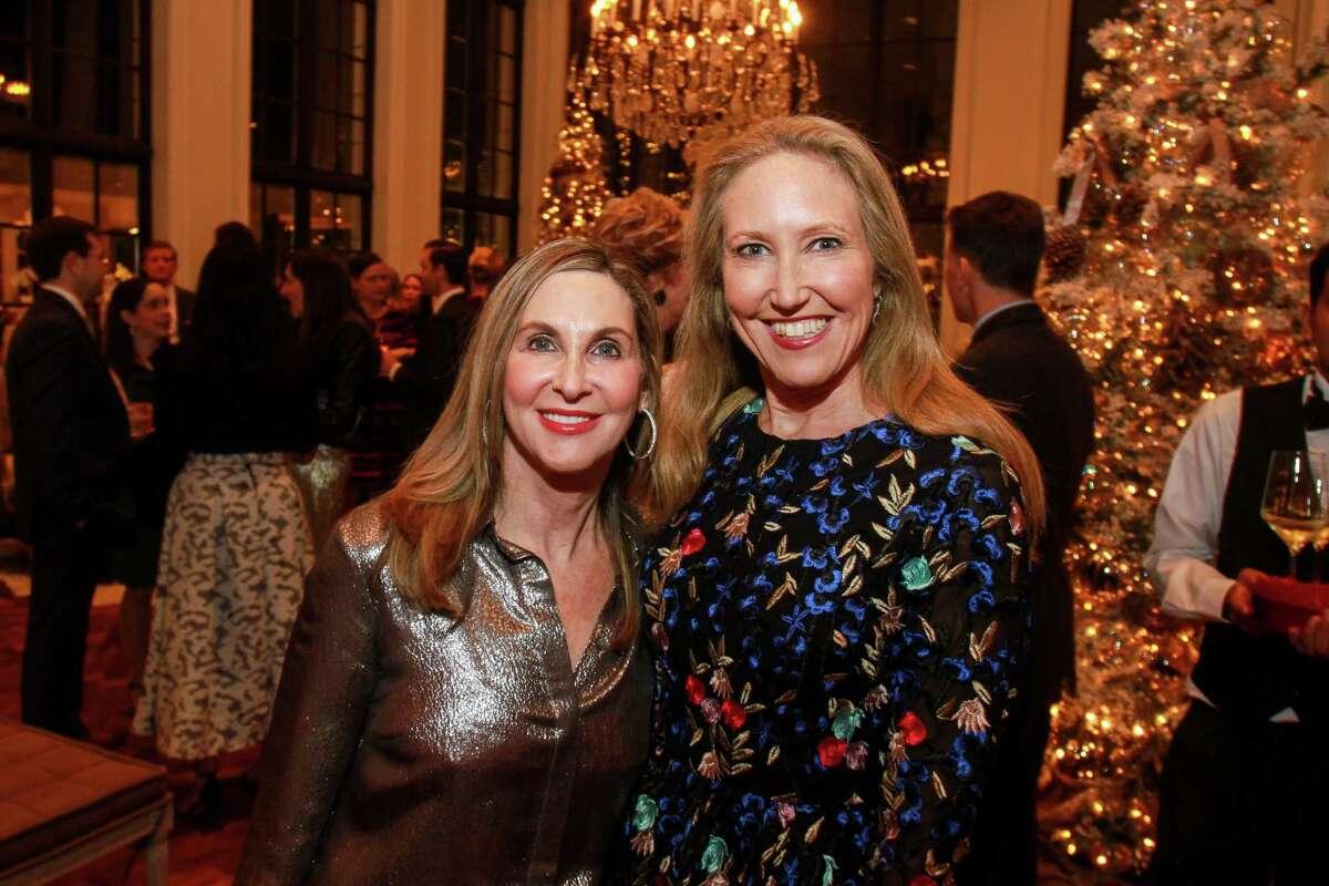 Ellen Weitz, left, and Bailey Dalton-Binion at the 13th Annual Santa's Elves Party.