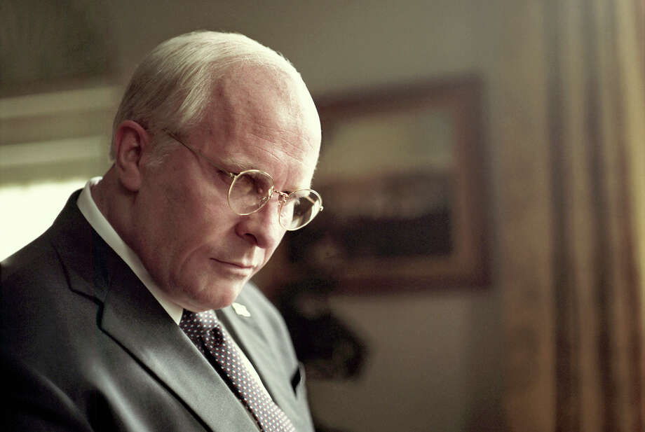 """Vice,"" starring Christian Bale as former Vice President Dick Cheney, earned six Golden Globe nominations Thursday -- the most of any movie this year. Photo: Greig Fraser, Annapurna Pictures / 2018 © Annapurna Pictures, LLC."