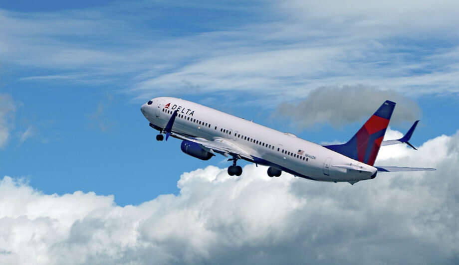 Delta's nearly doubled the mileage bonus in it's three SkyMiles credit cards- but only for a limited time Photo: Jim Glab