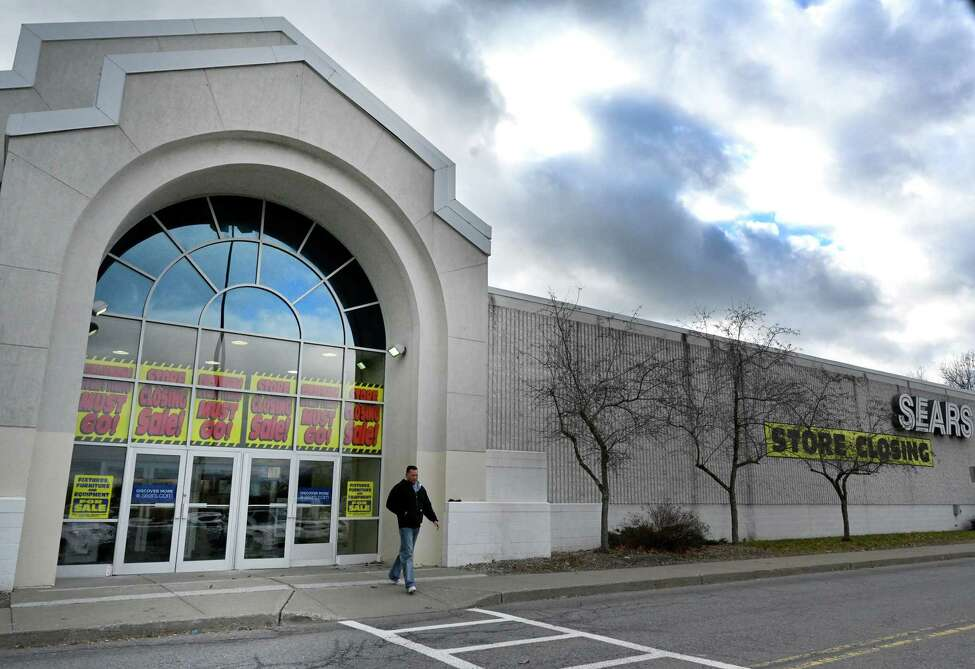 Exterior view of Sears department store based in the Wilton Mall Thursday Dec. 6, 2018 in Wilton, N.Y. (Skip Dickstein/Times Union)