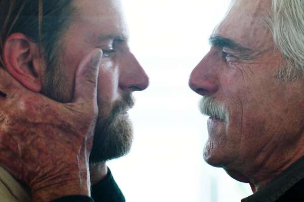 "Bradley Cooper and Sam Elliot in ""A Star is Born."""