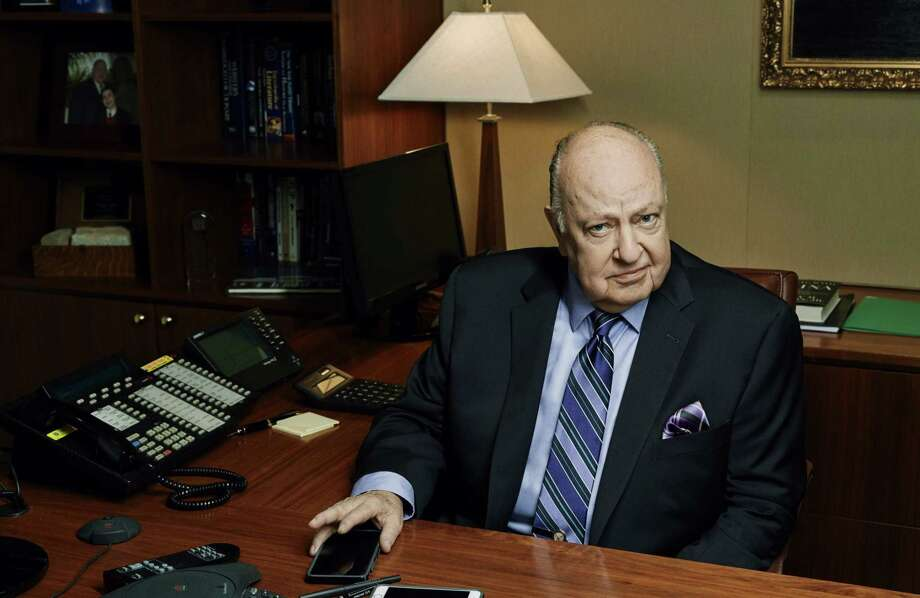 Roger Ailes poses in his office, 2015 in DIVIDE AND CONQUER: THE STORY OF ROGER AILES Photo: Magnolia Pictures / 99