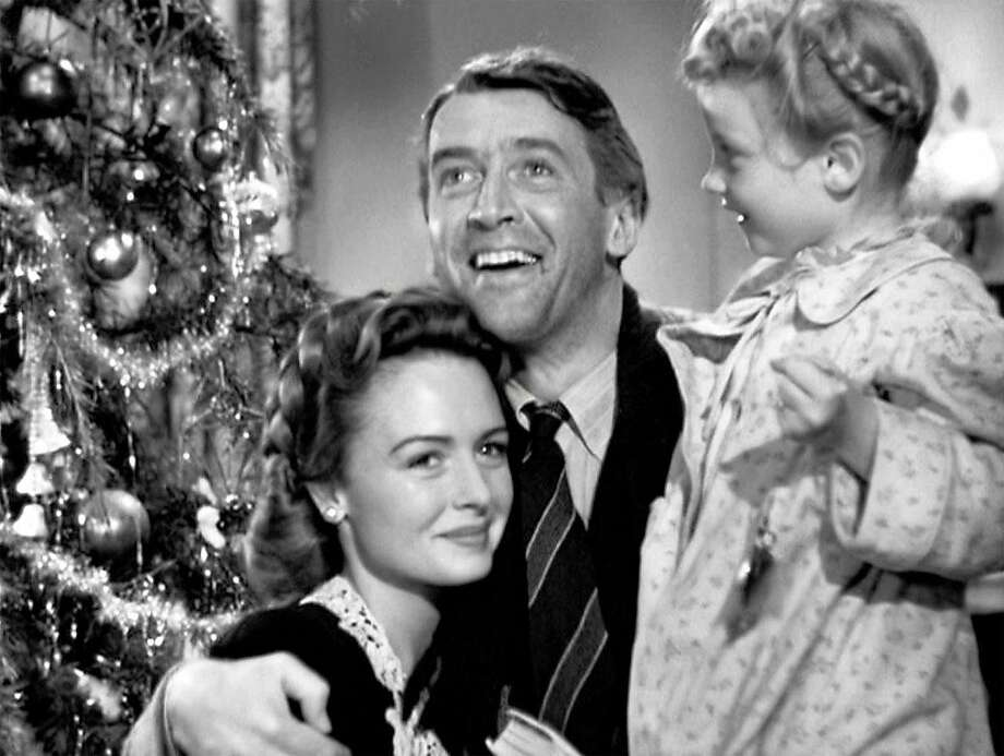 "The Christmas classic ""It's a Wonderful Life"" is set in New York, but Frank Capra conceived the story in California. Photo: RKO Radio Pictures 1946"