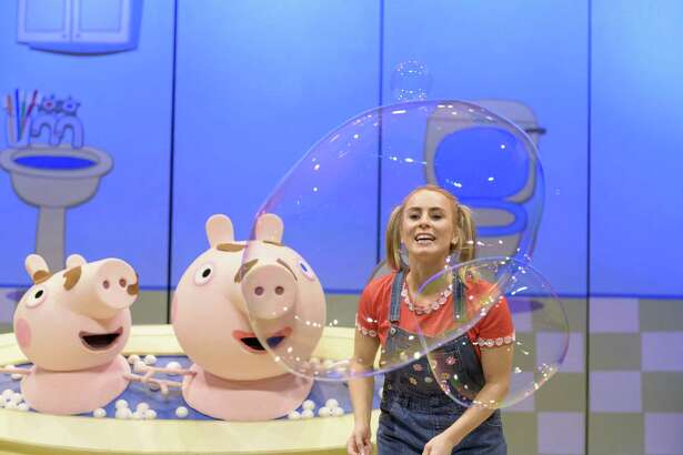 Peppa Pig Live! will be performed at Smart Financial Centre in Sugar Land on Friday.