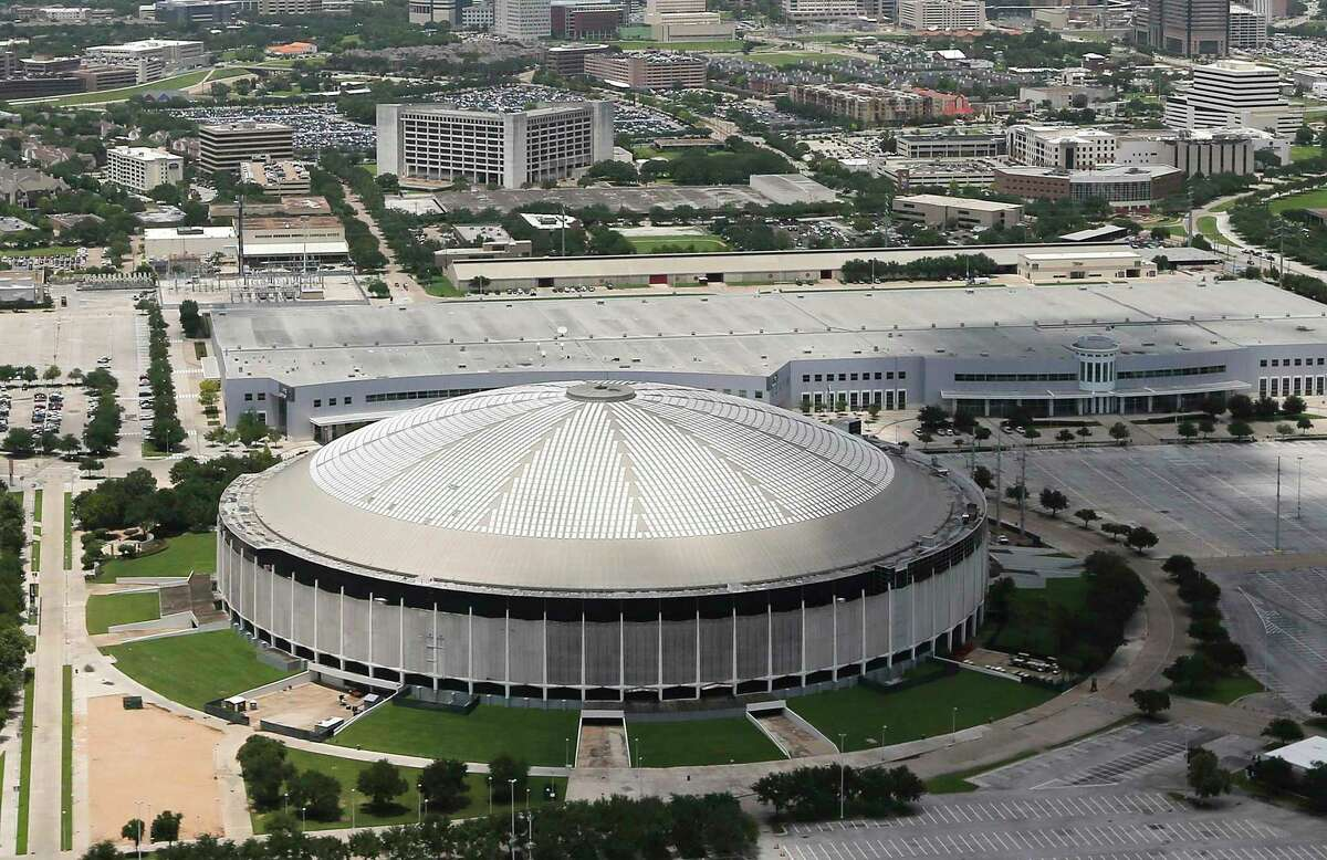 The Astrodome in July 2018
