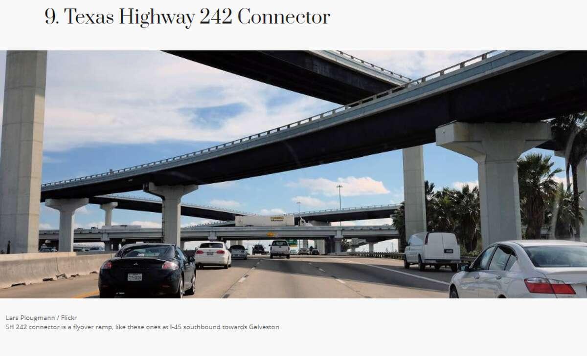 Location: Houston area, near The Woodlands Maximum passenger vehicle fee: $14.50 Average toll per mile: $0.48