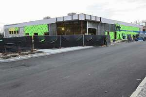 Construction is underway for the new Starbucks at Colonie Center near the corner of Central Ave. and Wolf Rd. on Thursday, Dec. 6, 2018 in Colonie, N.Y. The developer of Starbucks wants to narrow its parking spaces to 8 1/2 feet wide from 9 feet. (Lori Van Buren/Times Union)