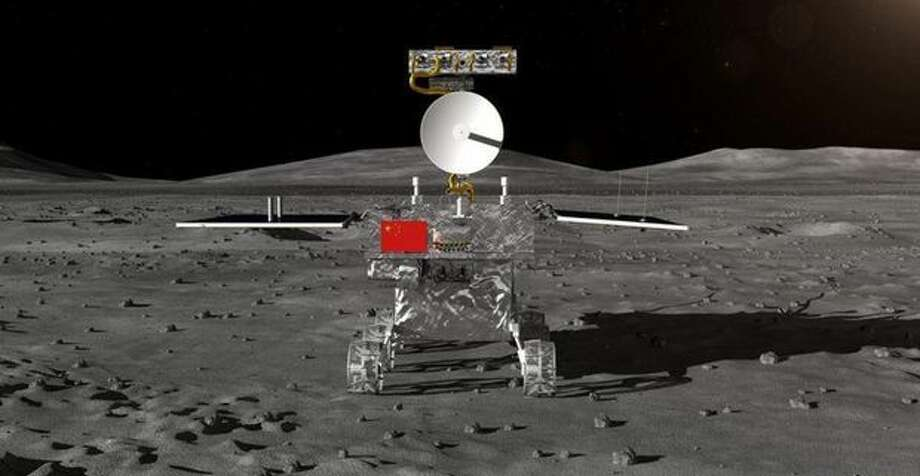 The yet-to-be-named rover China is sending to the far side of the moon. Photo: Xinhua