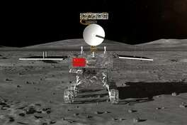 The yet-to-be-named rover China is sending to the far side of the moon.