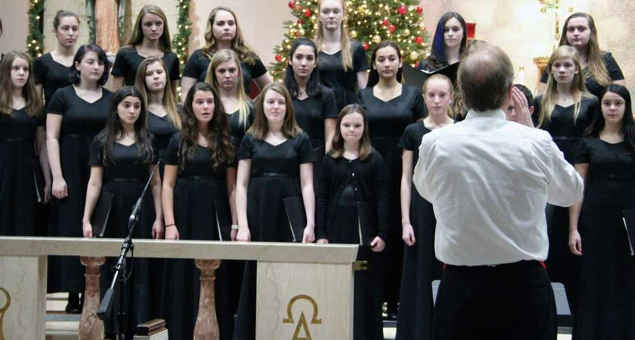The Chamber Singers of the Fairfield County Children's Choir will perform during the fourth annual Young Persons' Concert at St. Thomas Aquinas Church in Fairfield on Dec. 8 at 7 p.m. Photo: Contributed Photo
