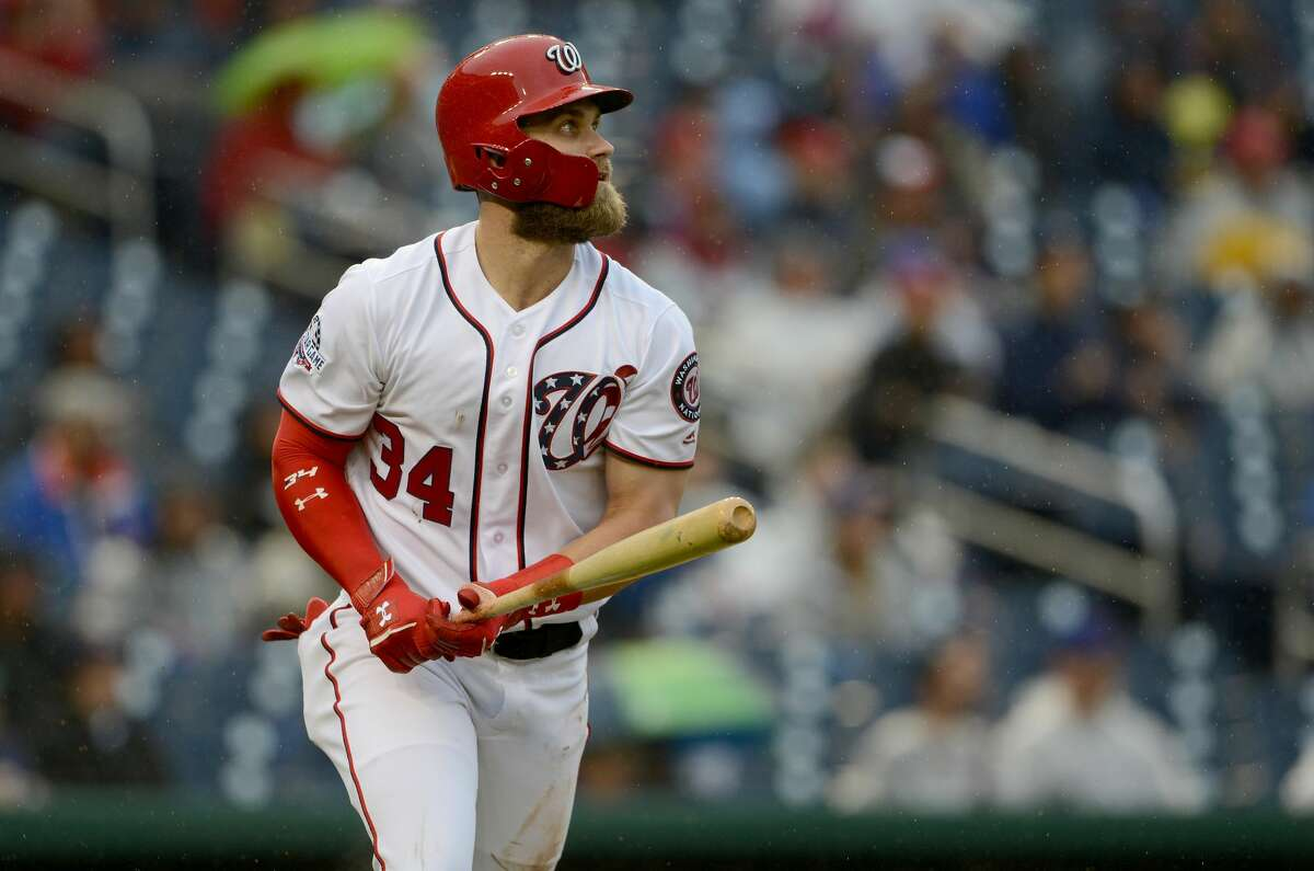 Brycer Harper, OF, Nationals Harper didn't have a great contract year - hitting .249 to go with his 34 home runs - but he's still going to break the bank. There are reports that Harper turned down a 10-year, $300 million offer from the Nationals, so teams better be ready to pay dearly.
